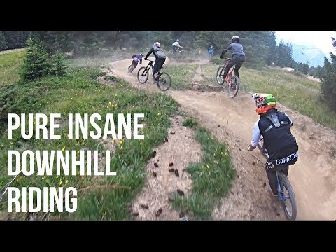 HONESTLY THE BEST DOWNHILL MTB RIDING I'VE EVER DONE!!