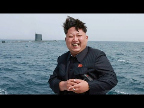 North Korea test-fires submarine missile