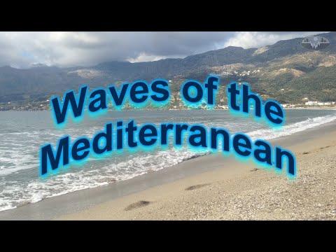 Ocean Sound - Wave Lapping - Mediterranean Sea - Plakias Beach - Crete - Greece