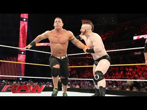 John Cena vs. Sheamus: Raw, Sept. 14, 2015