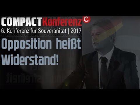 Jetzt anmelden: COMPACT-Oppositionskonferenz am 25.11.