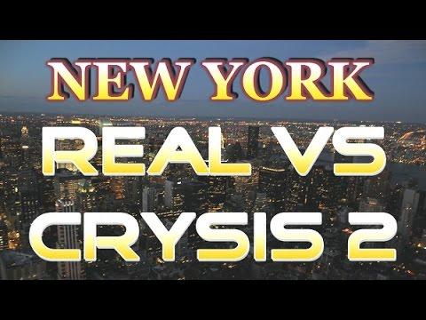 Crysis 2 vs Real New York Castle Clinton