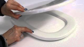 Sedile Copriwc Originale Pozzi Ginori Serie 500 Bianco Youtube