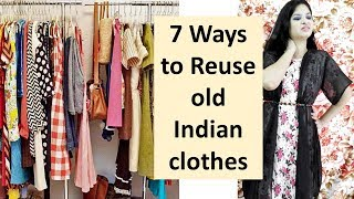7 awesome ways to reuse or recycle old indian clothes | Learning Process