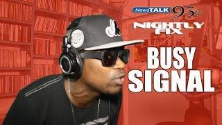 Busy Signal freestyle @NightlyFix