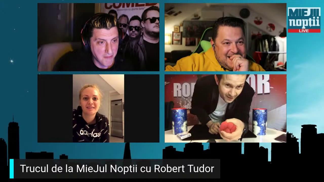 Magicianul Robert in action I Miejii Noptii - episod #5 - 24.03.2020