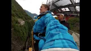 James Bond 007 Bungee Jump! Up close and personal with view from GoPro
