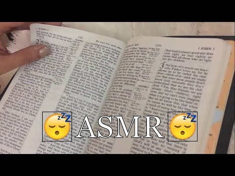 ASMR ~ Bible Reading I John -Foreign Accent and Soft Spoken - Happy ...