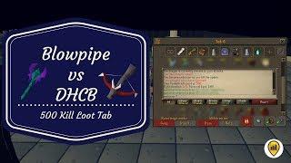 Download lagu Blowpipe vs Dragon Hunter Crossbow 500 Kill Loot Tab MP3