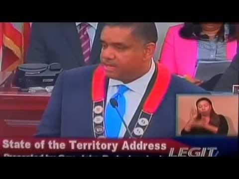 Governor John P. de Jongh 2014 State of the Territory Address