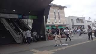 《乗り換え》メトロ・JR西船橋駅から京成西船駅へ。 Nishi-funabashi