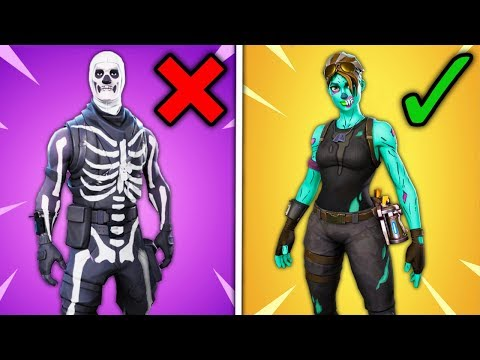 Top 10 Fortnite Skins That Are Overrated Game Videos