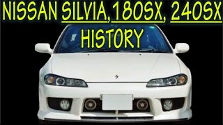 ★ NISSAN SILVIA / 180SX / 240SX History : Everything YOU need to know! ★