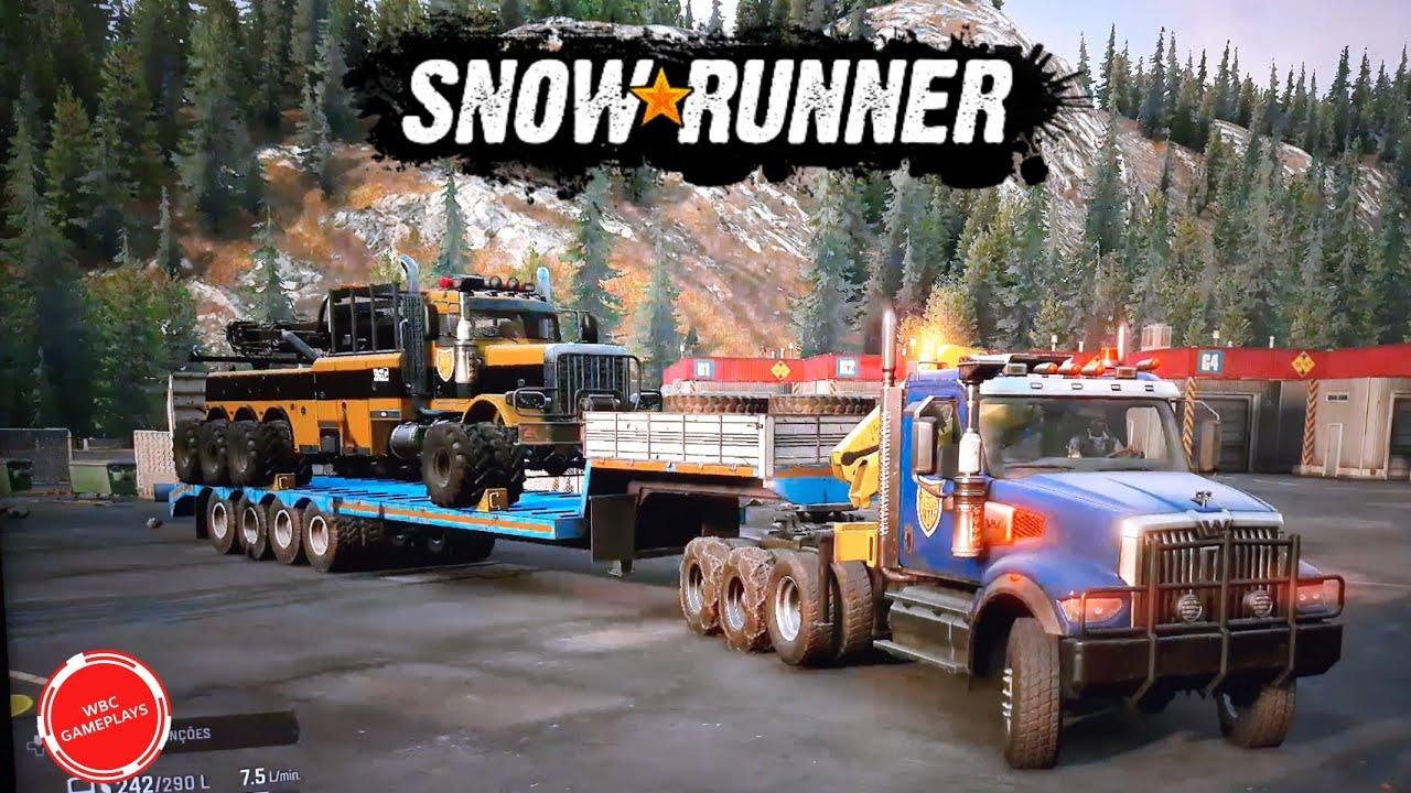 """Snowrunner - Operação """"Resgate Western Star 6900"""""""