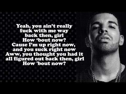 Drake   How About Now'' Lyrics Video