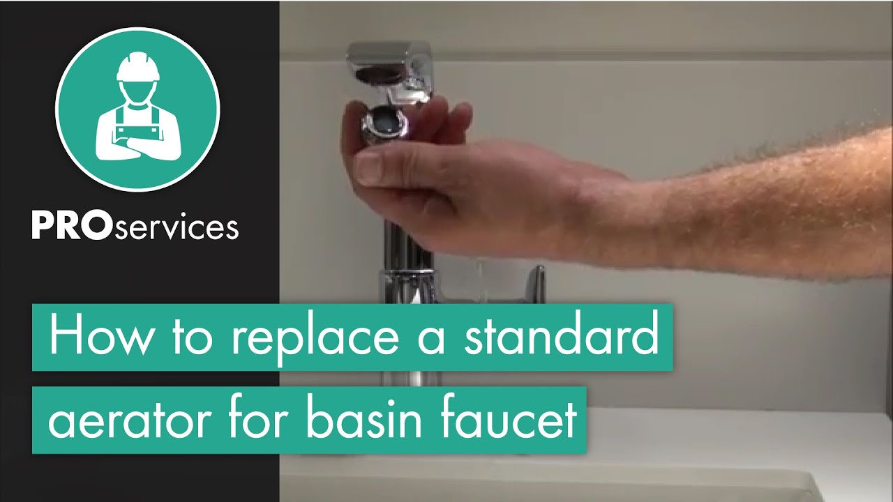 hansgrohe Technical Tip: Replacement of a standard Aerator for Basin ...