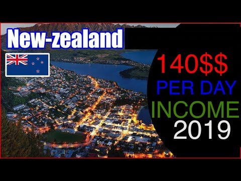 140 Dollar Per Day income New Zealand