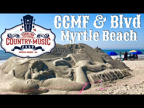 Carolina Country Music Festival Prep and Boulevard Construction Update | Myrtle Beach