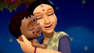 மாமரத்து  கிளி  தூங்க - தாலாட்டு பாடல் | Tamil Rhymes and Baby songs | Infobells