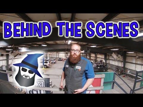 Take a trip around the CAR WIZARD'S shop