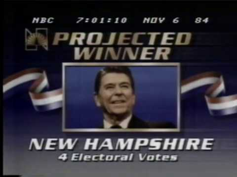 Election Night 1984 NBC News Coverage