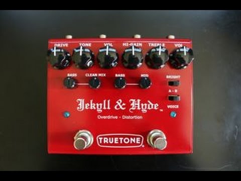 Trutone Jekyll and Hyde Overdrive-Distortion demo by Shawn Tubbs