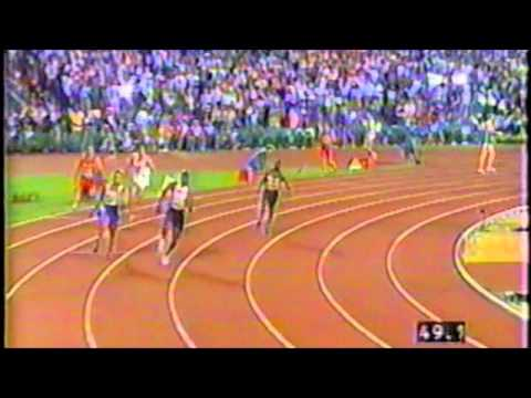 Anthuan Maybank 1996 Atlanta 4x400 Relay Olympic Final