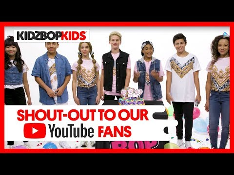 Shoutout to our 1 MILLION+ KIDZ BOP YouTube Subscribers!