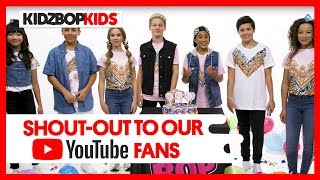 Shout-out to our 1 MILLION+ KIDZ BOP YouTube Subscribers!