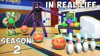 Monster School in Real Life Season 2: Bowling | Basketball | Soccer | Racecar Driving