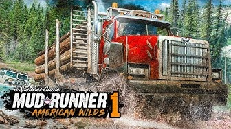 SPINTIRES: AMERICAN WILDS #1: Off-road durch Amerika! | Spintires Mudrunner American Wilds