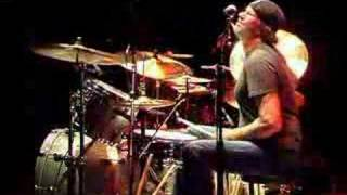 Sabian endorser Chad Smith playing to 'Readymade' track at a recent...