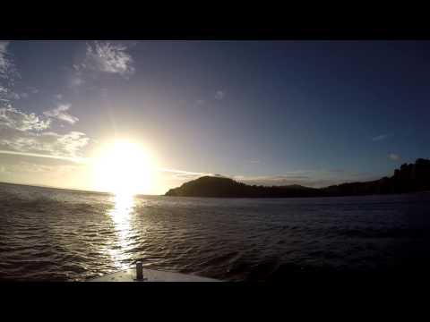 Misibis Bay / Mayon Volcano Boat Tour (Cagraray, Philippines)