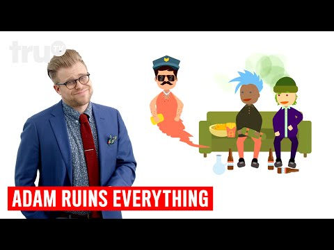 Adam Ruins Everything - Why Undercover Cops Can Lie to You