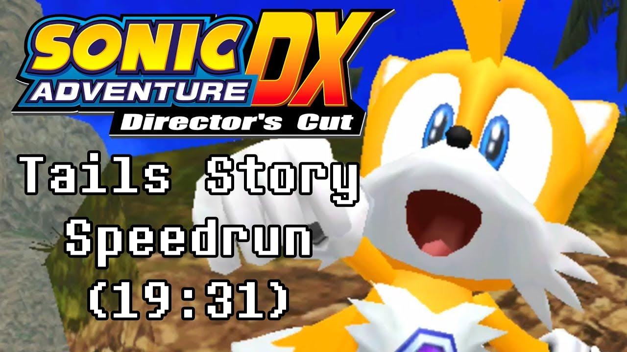 Sonic Adventure (DX) Tails' Story Speedrun (19:31)