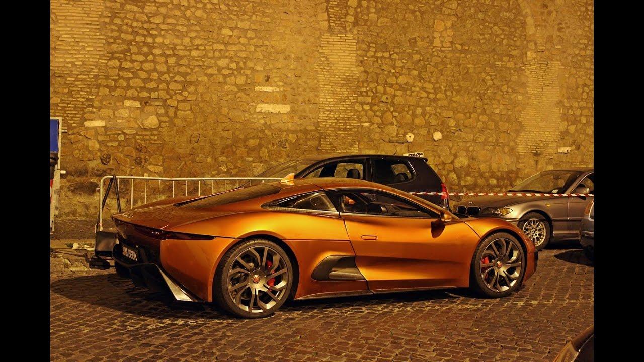 jaguar c x75 walkaround james bond 007 spectre youtube. Black Bedroom Furniture Sets. Home Design Ideas