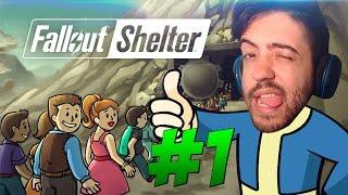 FALLOUT SHELTER #1 -  GAMEPLAY IPHONE PT-BR Jogo foda e grátis promocional do Fallout 4