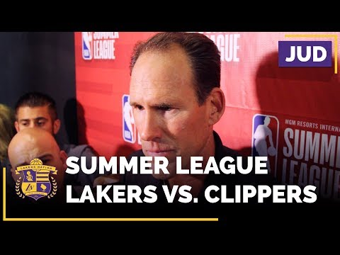 Lakers Summer League: Jud Buechler On Lonzo