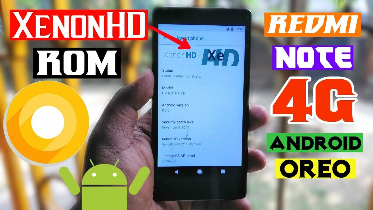 XenonHD ROM|Mostly Stable Android 8 0 Oreo Rom|Redmi Note 4G-Fix Error 7
