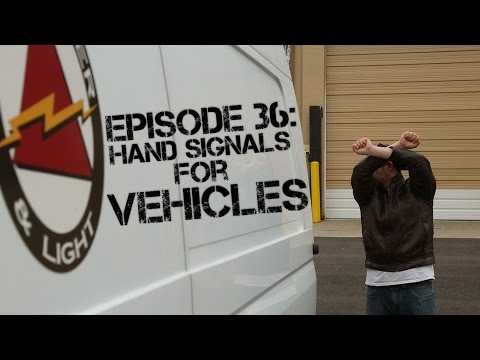 Ep 36:  Hand Signals For Directing Vehicles