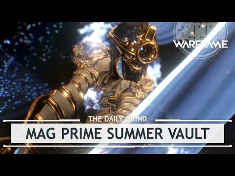Warframe: Mag Prime, Dakra Prime & Boar Prime - Unvaulted This Summer [thedailygrind]