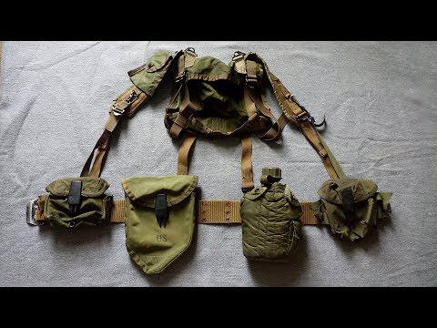 US Army M-1967 Modernized Load-Carrying Equipment