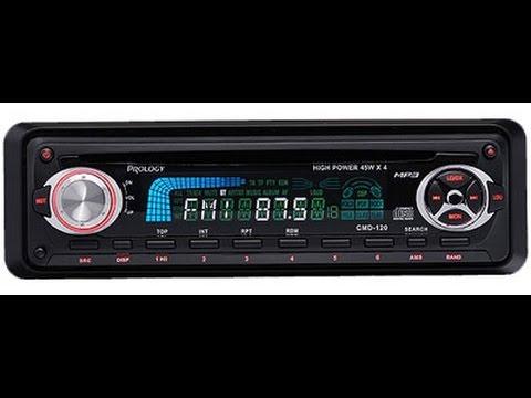 CD/MP3-ресивер Prology CMD-120