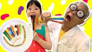 Rope Jelly candy حبل جيلي الحلوى เชือกลูกอมเยลลี่ 로프 젤리 캔디 Permen tali Jelly 로미유스토리 Romiyu Story