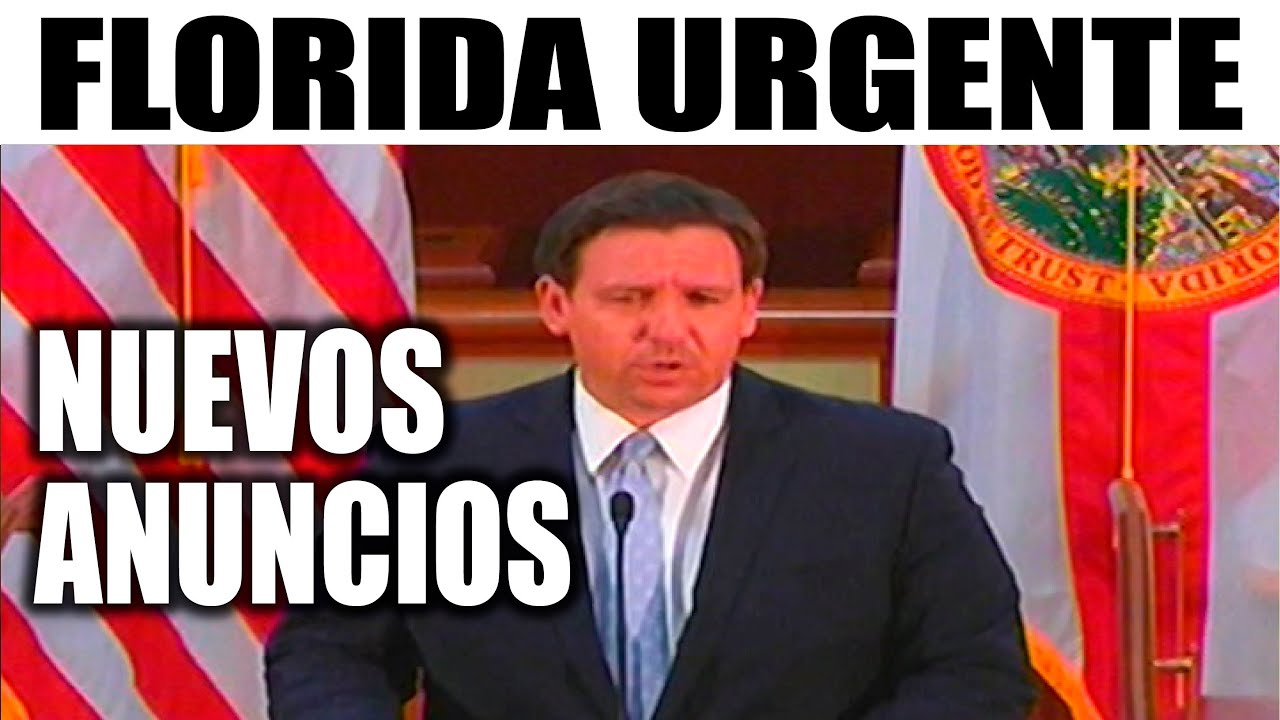 Ultimo minuto EEUU, GOBERNADOR NUEVOS ANUNCIOS 15/07/2020