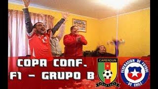 Camerún 0-2 Chile // REACCIONES // Copa Confederaciones - Rusia 2017 - Fecha 1