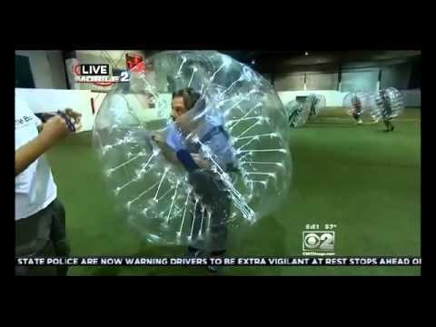 CBS' Vince Gerasole Tries out Battle Balls!
