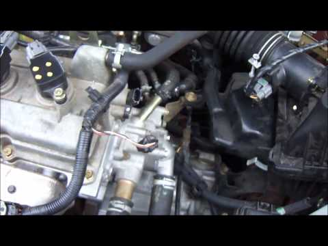 2004 Sentra 1.8L Camshaft Position Sensor Replacement