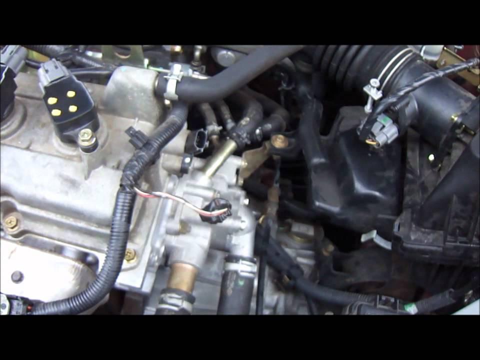 2004 Sentra 18L Camshaft Position Sensor Replacement  YouTube