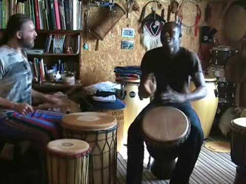 Soro Duet By Sory Conde (djembe) And Pavel Nowak (dundun Set)